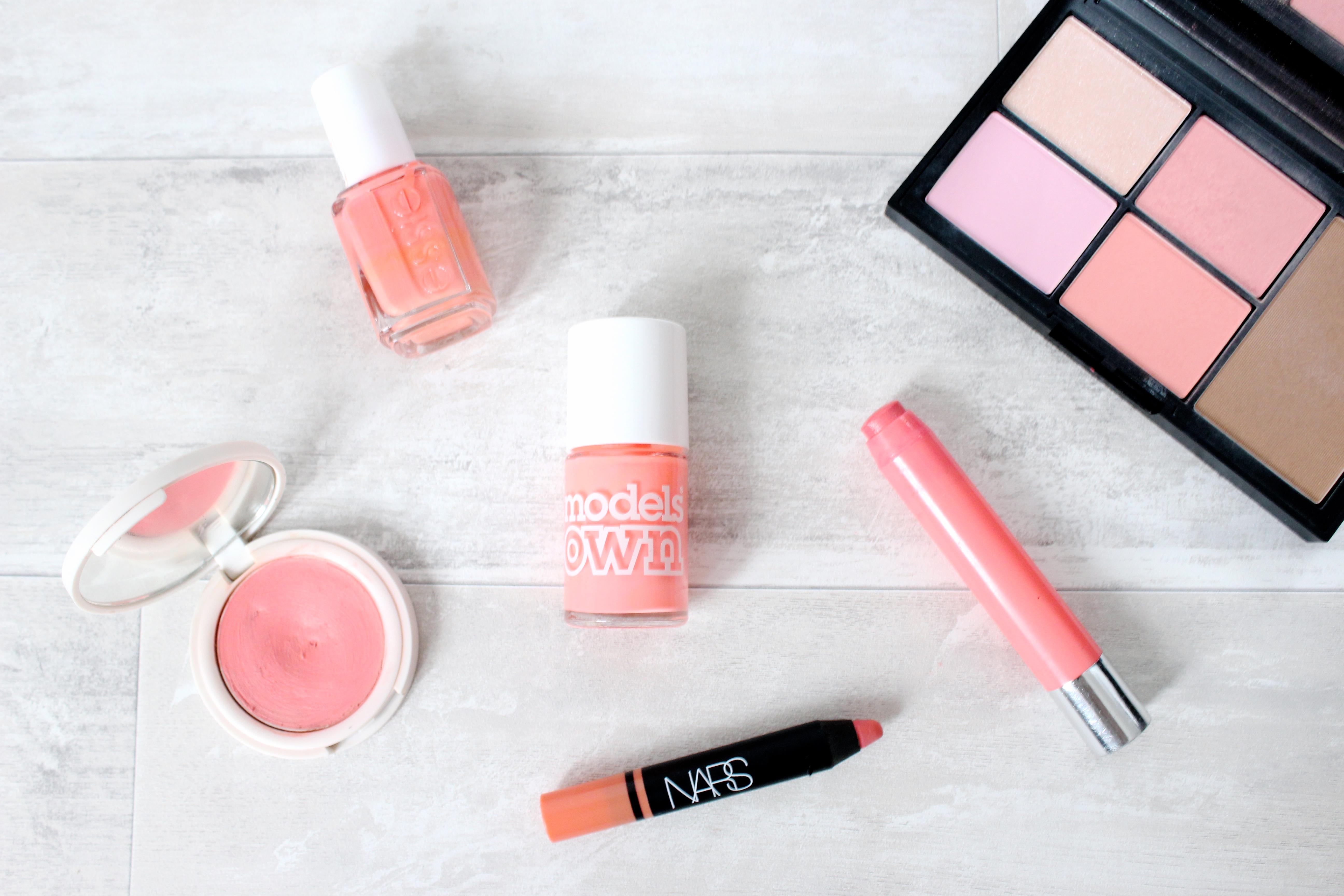 7e6e88f08507 Spring Makeup  Peach Perfect - weardaisywent
